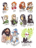 Harry_Potter_Characters_by_OwlGem